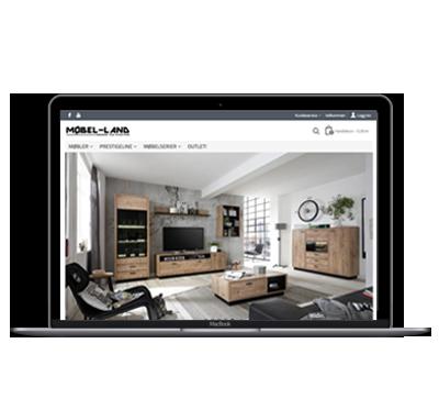Møbel-land nettbutikk
